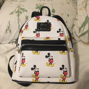 Authentic Loungefly Mickey Mouse Mini Backpack